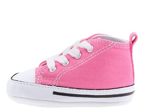 Converse First Star Crib Shoes Pink