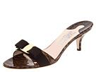 Patent Leather Kitten Heel Sandal