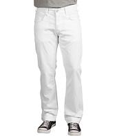 Hudson - Byron 5-Pocket Straight Leg in White