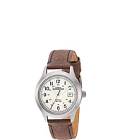 Timex - EXPEDITION® Full Size Brown Leather Field Watch
