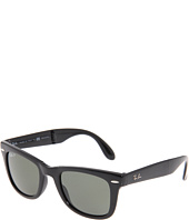 Ray-Ban - RB4105 Folding Wayfarer Polarized 50 Medium