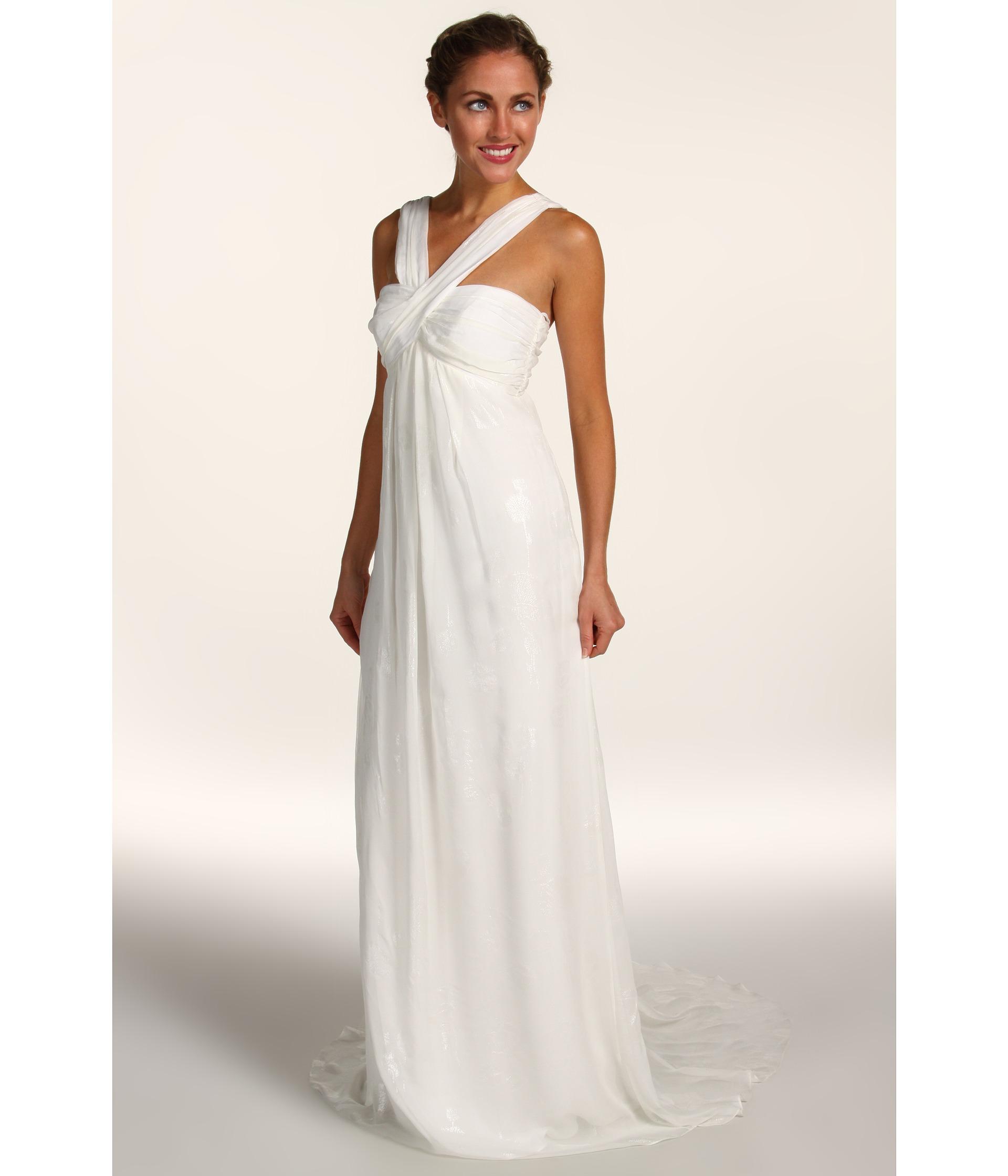 Nicole Miller Lurex Chiffon Gown $171.99 (  MSRP $575.00)