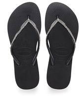Havaianas - Slim Crystal Mesh II Flip Flops