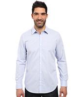 Calvin Klein - Long Sleeve Infinite Cool Button Down Mini Check Shirt