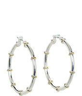 LAUREN Ralph Lauren - Medium Hoops w/ Gold Rings