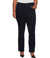 Jag Jeans Plus Size - Plus Size Peri Pull-on Straight in After Midnight