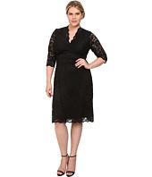 Kiyonna - Scalloped Boudoir Lace Dress
