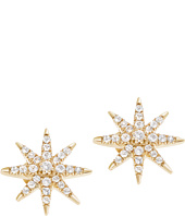 Elizabeth and James - Compass Rose Stud Earring