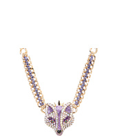 Betsey Johnson - Fox Princess Frontal Necklace