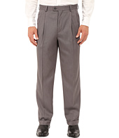 Perry Ellis Portfolio - Classic Fit Double Pleat Micro-Melange Pant
