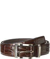Florsheim - Croc Embossed Leather Belt