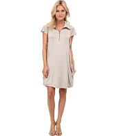 kensie - Drapey French Terry Dress
