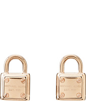 Michael Kors - Padlock Logo Stud Earring