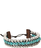 Lucky Brand - Blue Faux Wrap Bracelet
