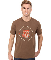 Life is Good - Home Slice Top Notch Tee