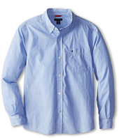 Tommy Hilfiger Kids - Vineyard End On End Shirt (Big Kids)