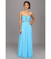 Faviana - Strapless Sweetheart Corset Back Dress 7366