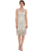 Unique Vintage - The Bosley Beaded Fringed Flapper Dress