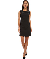 Adrianna Papell - Necklace Beaded Sheath Dress