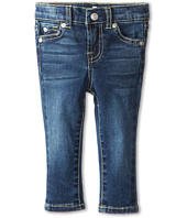 7 For All Mankind Kids - Skinny in Nouveau New York Dark (Infant)