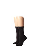 LAUREN Ralph Lauren - Supersoft Pindot/Flatknit/Solid Trouser 2 Pack