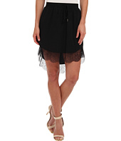 BCBGeneration - Lace Trim Hi-Lo Skirt