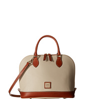 Dooney & Bourke - Pebble Leather New Colors Zip Zip Satchel