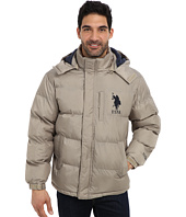 U.S. POLO ASSN. - Classic Short Bubble Coat w/ Big Pony