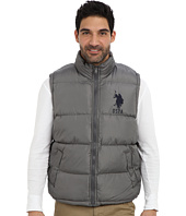 U.S. POLO ASSN. - Basic Puffer Vest w/ Large Pony
