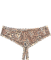 Hanky Panky - Plus Size Leopard Nouveau Crotchless Cheeky Hipster