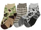 Camo Stripe Crew Socks 3 Pack (Infant/Toddler/Little Kid/Big Kid)