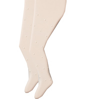 Jefferies Socks - Dress Up Pearl Tights 2 Pack (Toddler/Little Kid/Big Kid)