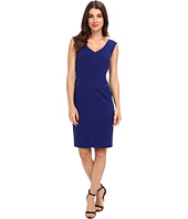 Laundry by Shelli Segal - Modern Seamed Crepe Dress