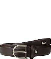 Lacoste - Premium Leather Metal Croc Belt