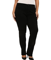 NYDJ Plus Size - Plus Size Hayley Straight in Black