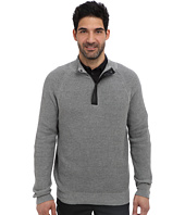 Kenneth Cole Sportswear - 1/2 Zip Mock with Coating