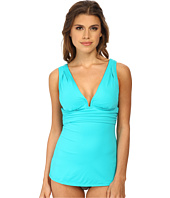 DKNY - Beyond Glam Square U-Wire Tankini Top