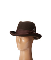 Stacy Adams - Homburg Wool Felt Hat w/ Grograin Band