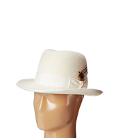 Stacy Adams - Homburg Wool Felt Hat w/ Grograin Band