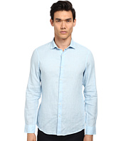 Michael Kors - Slim Garment Dye Linen Shirt