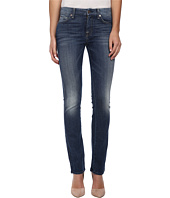 7 For All Mankind - Kimmie Straight in Slim Illusion Aggressive Atlas Blue