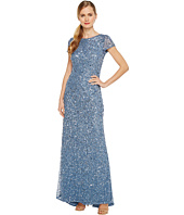 Adrianna Papell - Scoop Back Long Dress