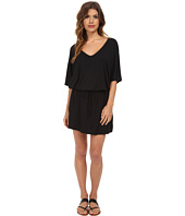 Michael Stars - V-Neck Dress w/ Drawstring