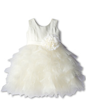 Us Angels - Satin and Tulle Dress w/ Flower (Toddler)