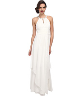 Donna Morgan - Siena Beaded Halter Long Gown