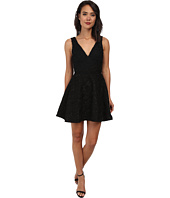 Sam Edelman - Lace Plunge V-Neck Dress