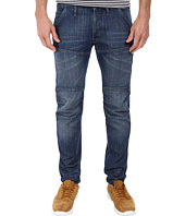 G-Star - 5620 Bike 3D Low Tapered in Duke Denim Medium Aged