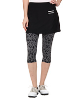 Jamie Sadock - Actif 26 in. Chopstix Print Capri with Attached Skort