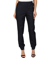 BCBGMAXAZRIA - Sami Woven Denim French Terry Sweatpants