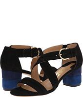 Salvatore Ferragamo - Suede Low Heel Sandal